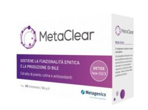 Metaclear 60 compresse