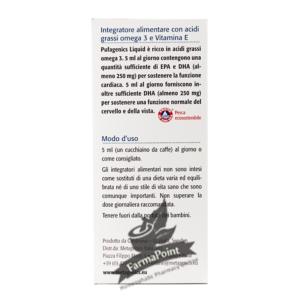 PUFAGENICS LIQUID LIMONE 210ML – Integratori Metagenis
